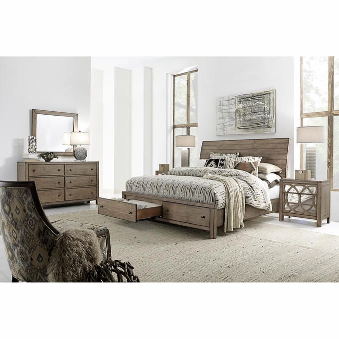 Ahh! I'm in love!! The perfect set for our updated bedroom. SetAudrey 5-piece King Storage Bedroom Set