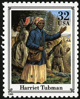 32 cents Harriet Tubman U.S. Postage Stamp, issued on June 29, 1995