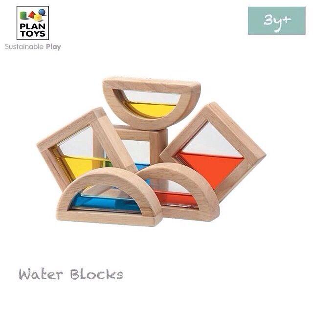 Plantoys Su Blokları- Water Blocks