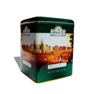 Ahmad Tea Tin Special Blend with Earl Grey 500g