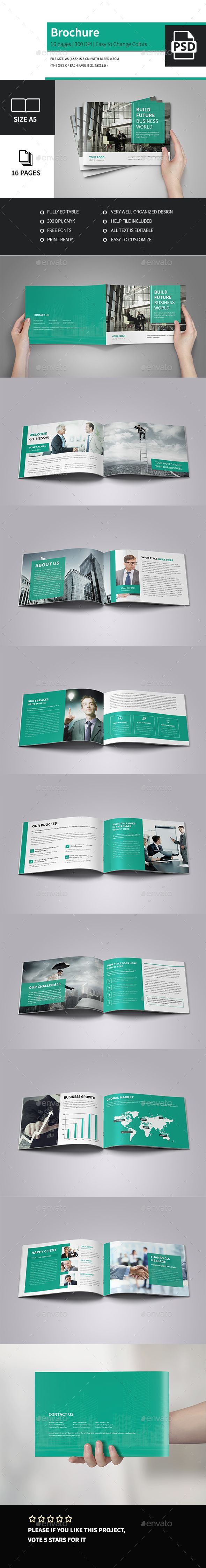 Corporate Business Brochure A5