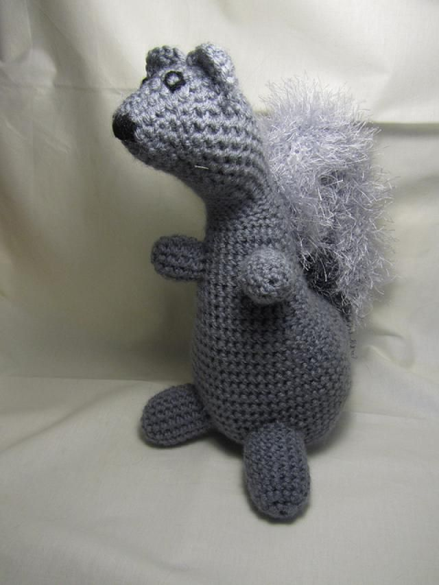Fancy Goldfish Amigurumi By Kate Wood : 10 Most Adorable Squirrel FREE Crochet Patterns Free ...