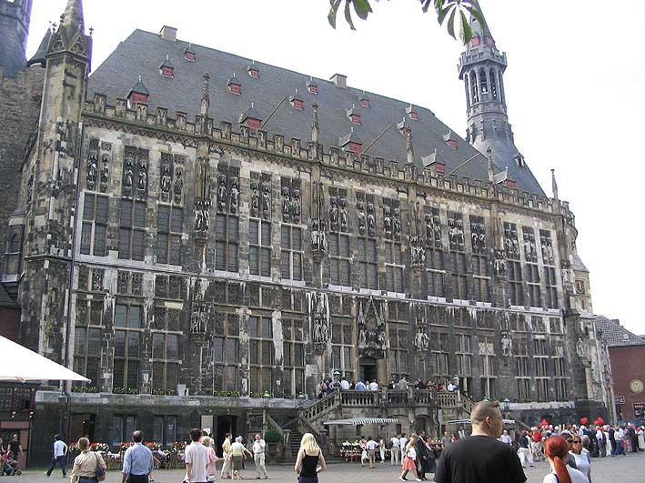 Aachen Palace.
