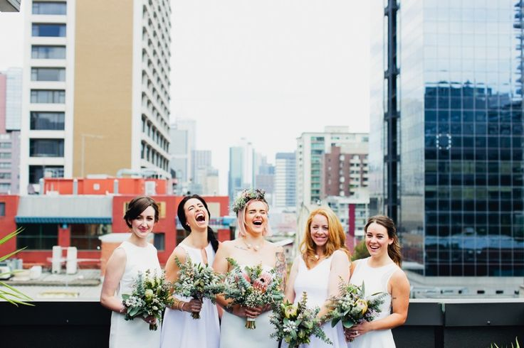 A foliage-filled wedding at Loose Leaf, Collingwood | Photography by Sayher Heffernan