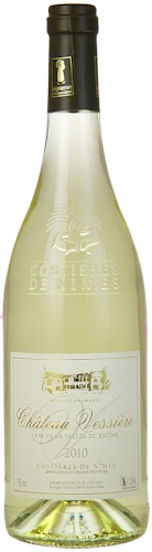 2010 CHÂTEAU VESSIÈRE Roussanne-Grenache Blanc Costières de Nîmes - Cracking scented refresher to welcome the Spring Sun! Now only £6.50 in our sale!! Stock up for Summer I reckon...