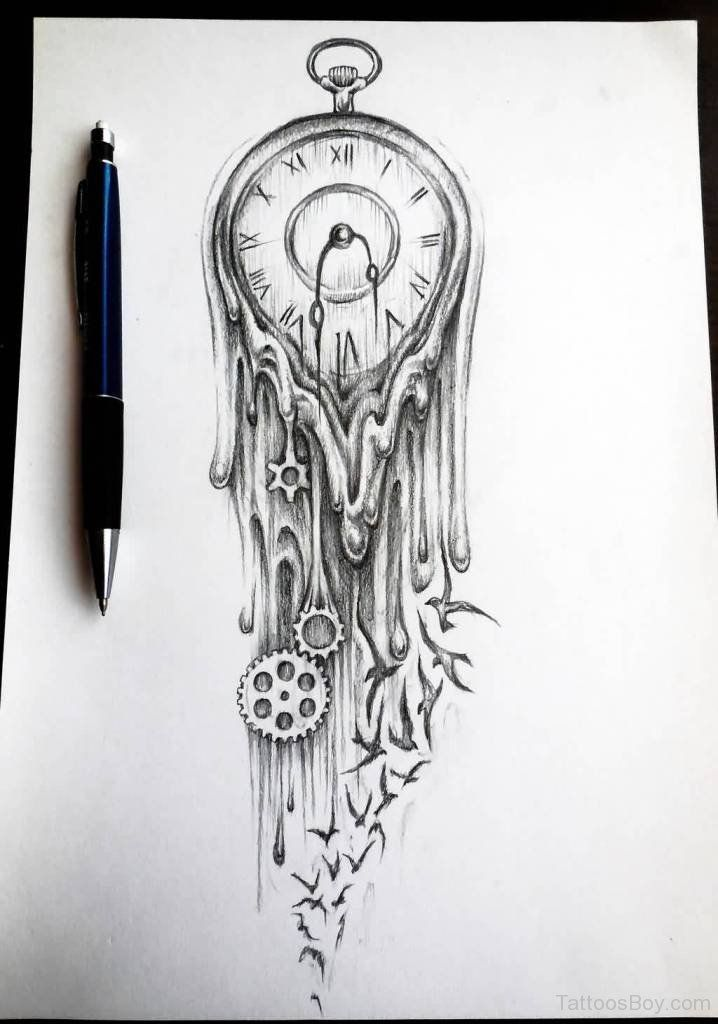 Clock Tattoos | Tattoo Designs Tattoo Pictures | Page 9