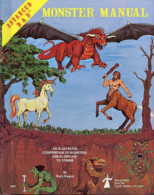 Monster Manual, Advanced Dungeons and Dragons, Early 1980s