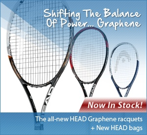 New Graphene Raquets