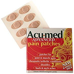 Acumed Pain Relief Patches - Effective For Back, Neck, Knee & Arthritic Pain with Magnetic Therapy.