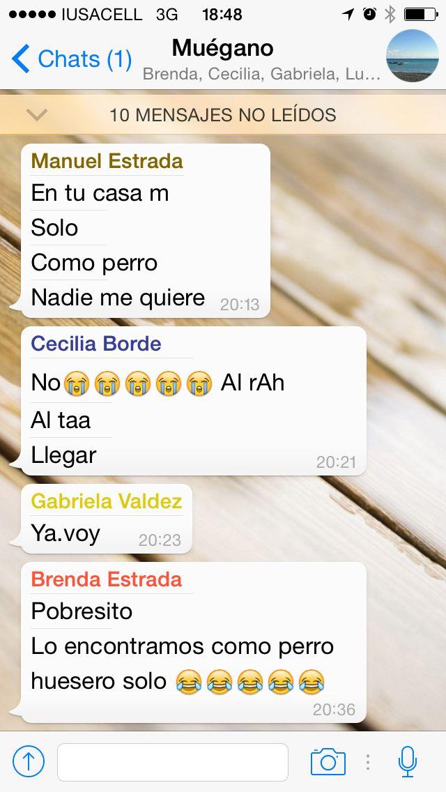Tristeza sublime #WhatsApp #Hermano