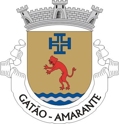 Crest of Gatão parish, Amarante municipality (Portugal)