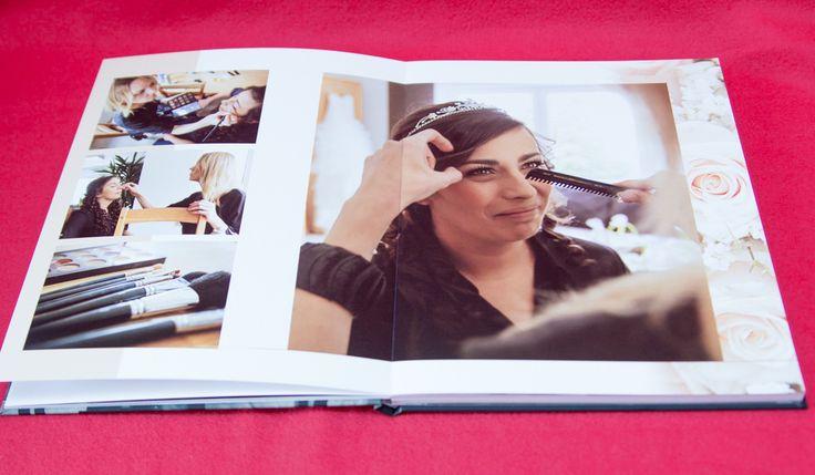 Hochzeitsalbum mit Ledercover | Wedding Book with matte Cover | Fotobuch | mattes Cover | by Photogracia Wedding