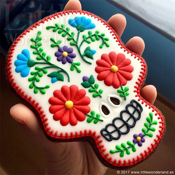 Galletas Mexicanas: Calavera