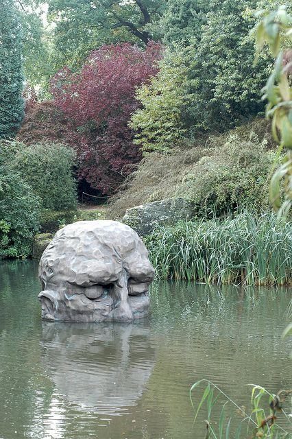 Chatsworth House Gardens, Derbyshire, England