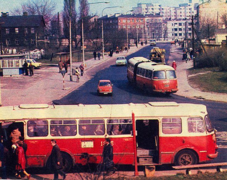 Rondo Żaba - Warszawa 1977 r.