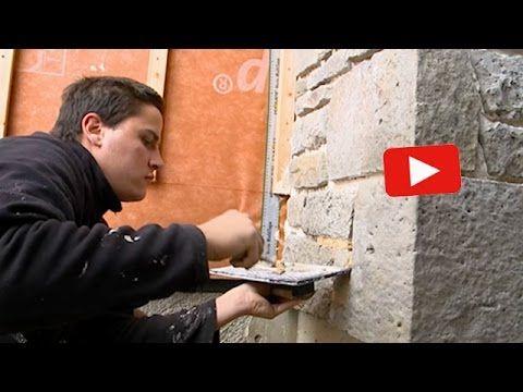 Poser des plaquettes de parement (ComprendreChoisir.com) - YouTube