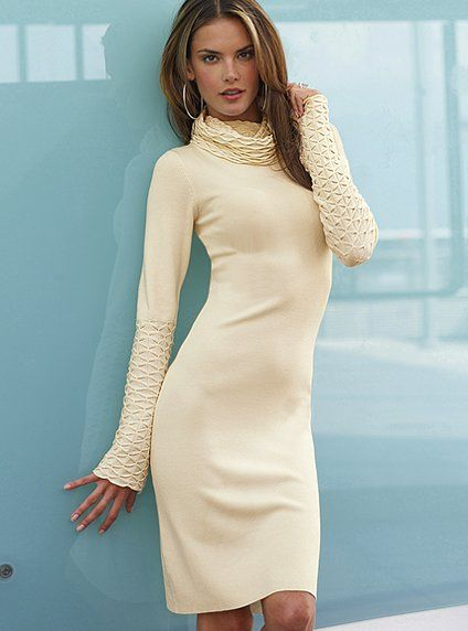 A simply beautiful knitted dress.