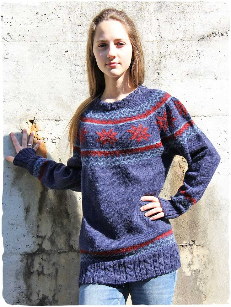 Charlotte Peruvian sweaters #Peruviansweaters  #ethnicstyle #roundneckline, #ranglan sleeve and braids on the edges. Beautiful combinations #colors in #ethnicdesign that recalls the style of #Norwegiansweaters but with very #soft #Peruvian #alpacawool #ethnicalfashion #alpacaswool #peruvianfashion #lamamita  #italianfashion #style  #modaitaliana #lamamitafashion #moda2016 #fashion2016 #winter #winterfashion #fallwinter #fallwintercollection  #peruvianstyle #norwegiansweater #sweater…