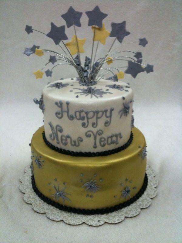 happy new year new year desert licious pinterest new years cake cake and new year cake decoration