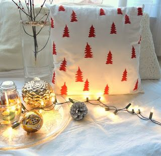 milleunrossetto: Decorate with me for Christmas - episode 3 Pillow ...