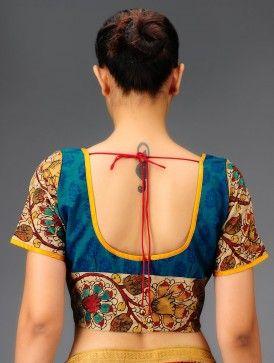 kalamkari blouse - Google Search
