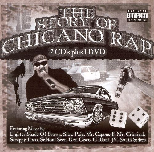 The Story of Chicano Rap [2 CD & DVD] [CD] [PA]