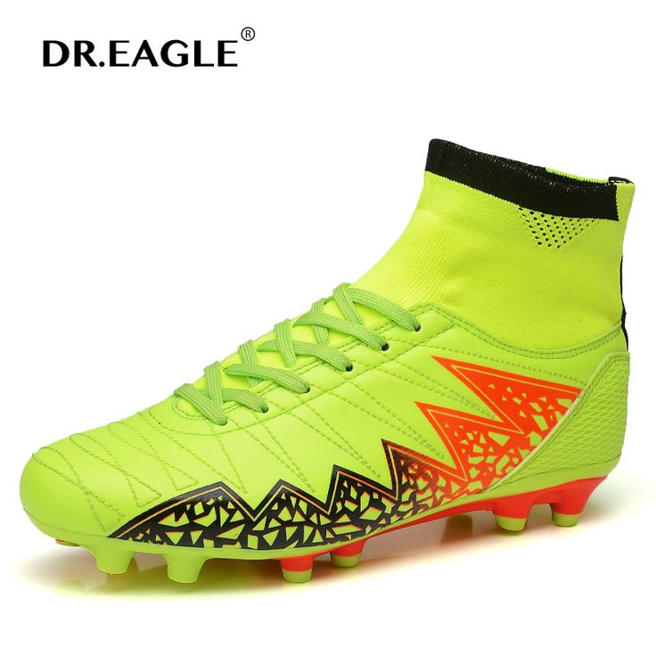 Superfly kids football boots boys High soccer shoes Ankle boot child spike football cleats with socks man football shoes sneaker