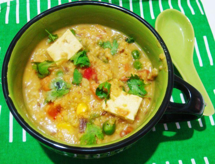 Tasty and Healthy Masala Oats Recipe/ Oats Upma/Veg Masala Oats Porridge