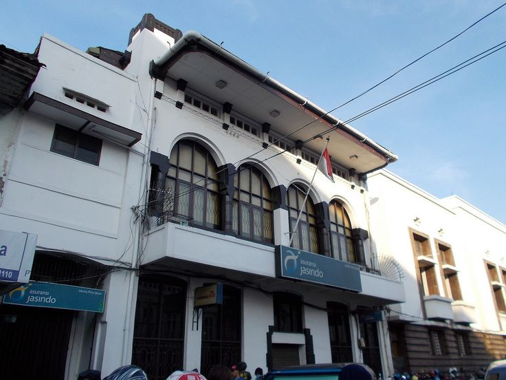 Jasindo insurance office in Jakarta Old Town.