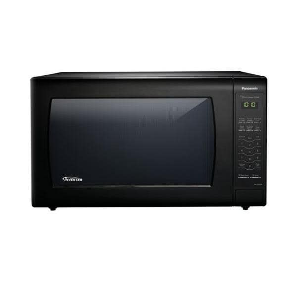 Panasonic NN-SN936B 2.2 Cu. Ft. 1250W Genius Sensor Countertop Microwave Oven with Inverter Technolo - Black