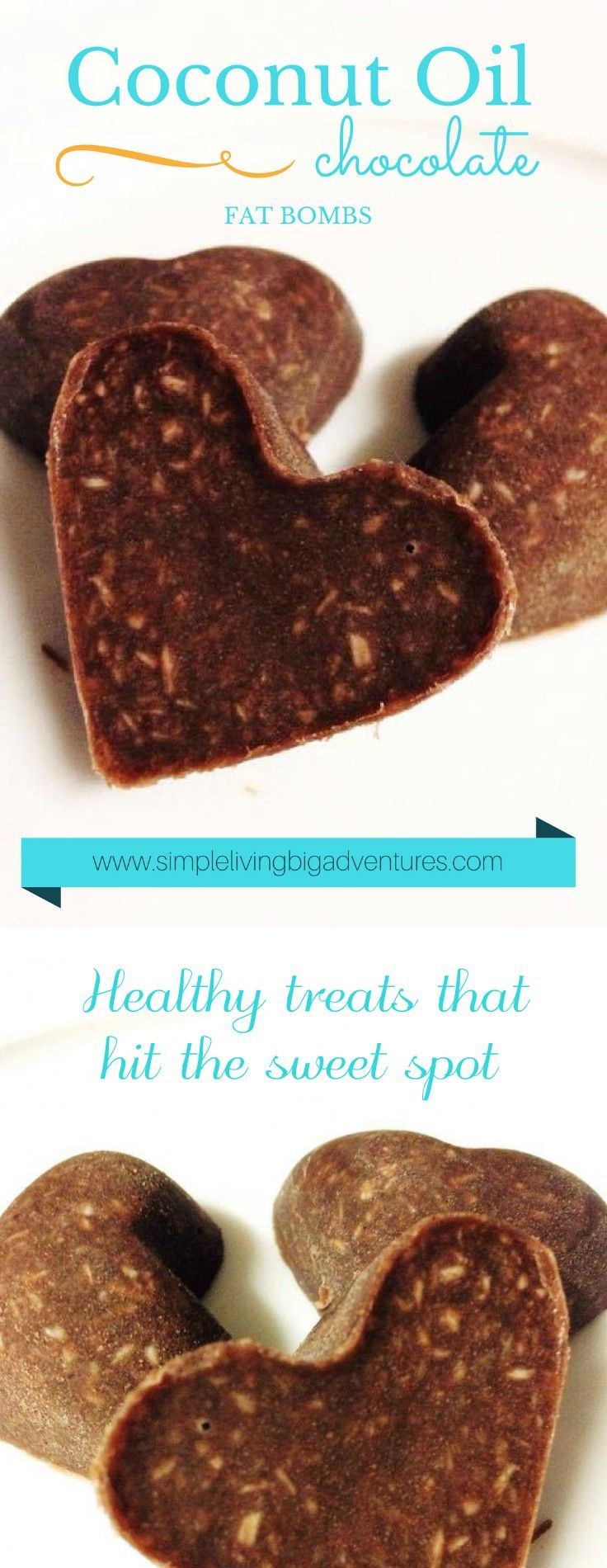 Coconut Oil Chocolate Fat Bombs - a healthy guilt-free treat.