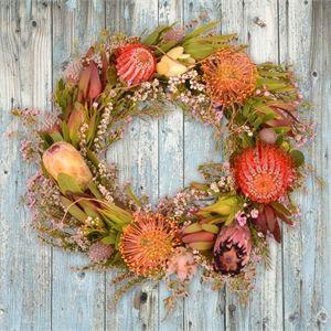 Sarah's Flowers - Native Wreath