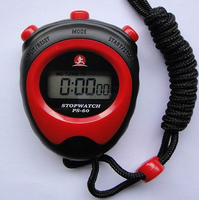 best price electronic stopwatch timer genuine sports referee running fitness table special offer free #referee #whistle