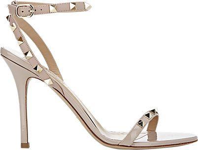 Valentino Rockstud Ankle-Strap Sandals - Sandals - Barneys.com