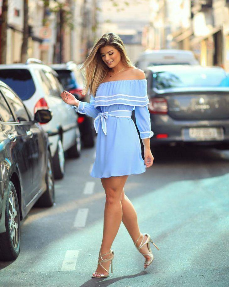 Vestido azul: 100 ideias para usar essa cor democrática | Summer dresses, Fashion, Dresses