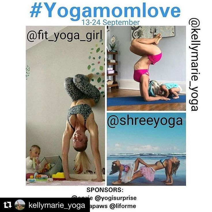 #Repost @kellymarie_yoga (@get_repost)  #MomYogaLove Let's celebrate all the stages of having a baby! Join us for a super fun and inspiring challenge which will cover poses to do with your little ones from pregnancy to postnatal yoga poses.  Commencing 13-24 September  HOSTS  @fit_yoga_girl  @kellymarie_yoga  @shreeyoga  SPONSORS: @onzie  @yogisurprise  @yogapaws  @liforme Guidelines To Enter: 1) Repost This Flyer and Hashtag  #MomYogaLove 2) Follow All Hosts and Sponsors 3) Tag a couple…
