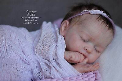 Prototype Adira by Iveta Eckertova Reborn Baby Girl