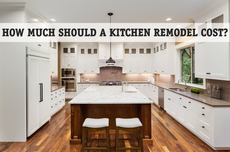 how much should a kitchen remodel cost projectquote pinterest. Black Bedroom Furniture Sets. Home Design Ideas