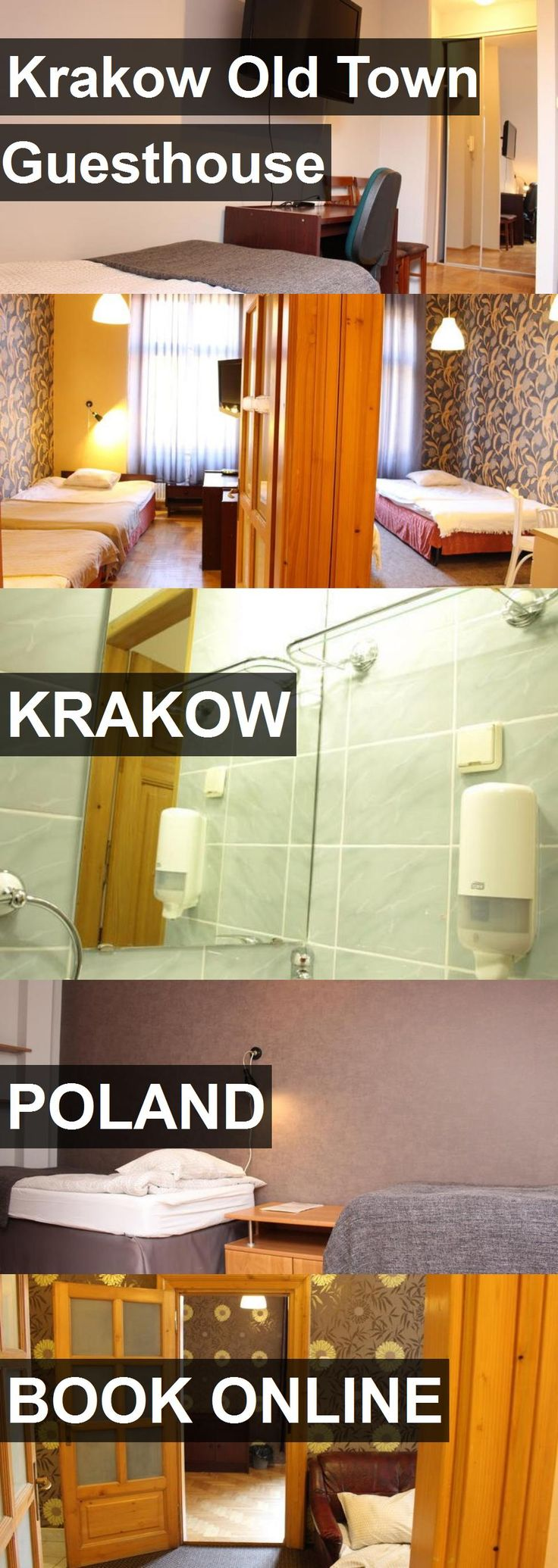Hotel Krakow Old Town Guesthouse in Krakow, Poland. For more information, photos, reviews and best prices please follow the link. #Poland #Krakow #KrakowOldTownGuesthouse #hotel #travel #vacation