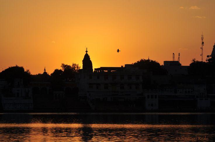 Sunset - Pushkar, India