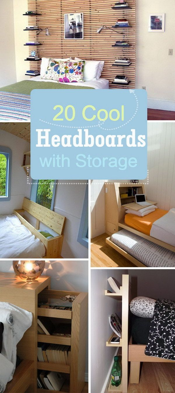 Cool Headboards best 25+ headboards with storage ideas only on pinterest | wooden