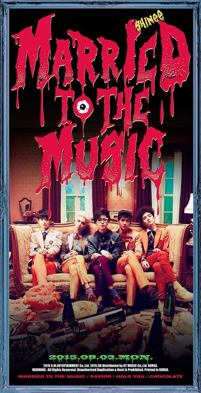 """SHINee """"Married To The Music"""" repackaged album to come out August 3rd!! xD so excited"""