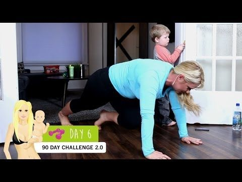 DAY 6: Bikini Body Mommy Challenge 2.0 - YouTube