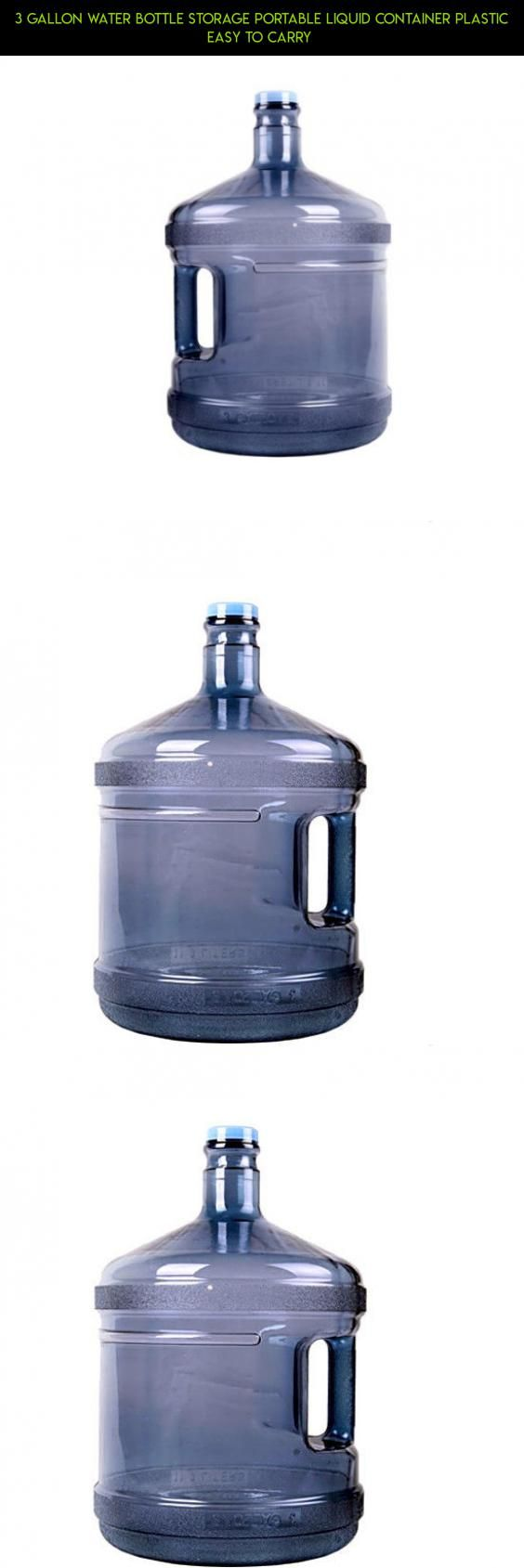 3 Gallon Water Bottle Storage Portable Liquid Container Plastic Easy to Carry  #kit #gadgets #products #tech #plans #shopping #fpv #drone #technology #parts #bottle #storage #racing #camera #water