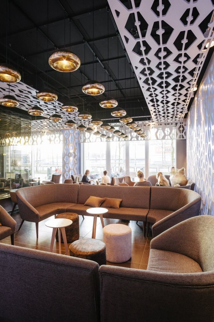 Ceiling & Lighting/ D/DOCK have designed an espresso cocktail bar in Amsterdam called Weekend.