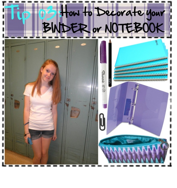 """Tip 03: How To Decorate Your Notebook/Binder"" By"