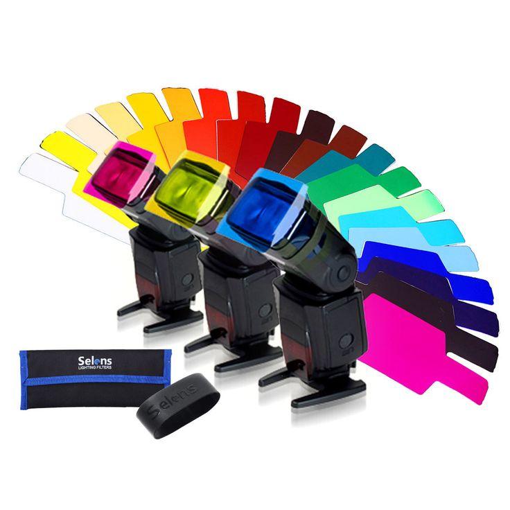 Meking SE-CG20 FLash/Speedlite/Speedlight Color Gels Filter 20pc #Meking
