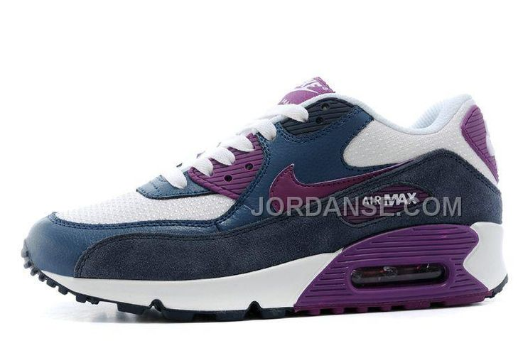 https://www.jordanse.com/womens-sneakers-nk-air-max-90-essential-white-dark-blue-purple-for-fall.html WOMENS SNEAKERS NK AIR MAX 90 ESSENTIAL WHITE / DARK BLUE / PURPLE FOR FALL Only $79.00 , Free Shipping!