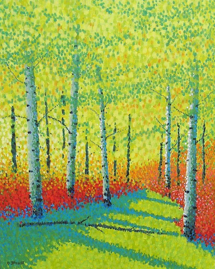 Jim Pescott's pointillism chosen as a mag cover!