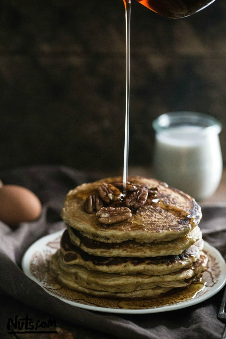 Quinoa Pancakes Recipe - The Nutty Scoop from Nuts.com